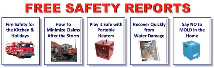 Download free safety reports to help lower homeowners insurance rates