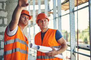 AIG 2 construction workers