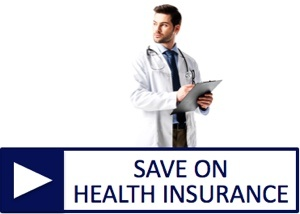 Click to save on health insurance for business and individuals