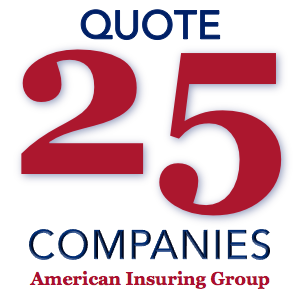We can quote up to 25 insurance companies with a single call, so contact us today!