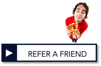 Refer a friend for WC insurance and get a free pizza on us!