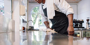 Safe Cleaning Tips to Protect Your Restaurant Customers and help you save on restaurant insurance in Philadelphia, Pittsburgh, Erie, Allentown, Reading, Lancaster, Harrisburg, PA and points in between.