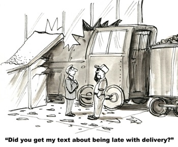 Truck driver texting guidelines and impact on trucking insurance rates in Pennsylvania