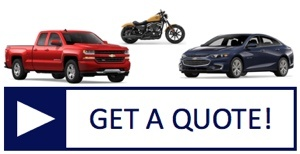 Get an insurance quote for any vehicle: car, truck, SUV, motorcycle and more!