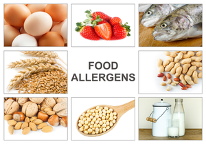 Food allergies can affect restaurant insurance costs.